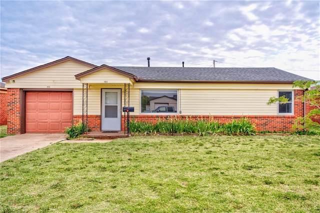 1403 Scott Street, Altus, OK 73521 (MLS #911250) :: Homestead & Co