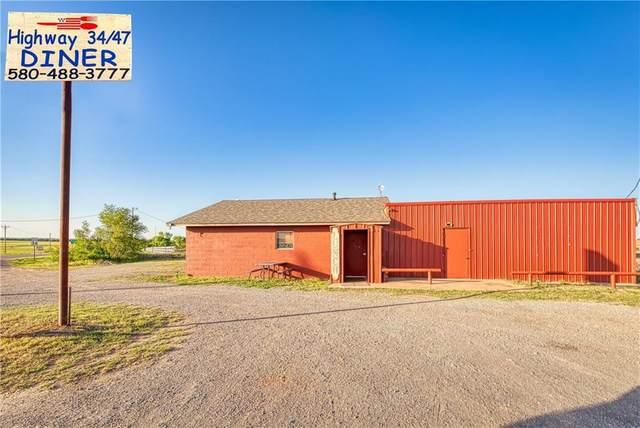 80968 State Highway 34, Leedey, OK 73654 (MLS #911357) :: Homestead & Co