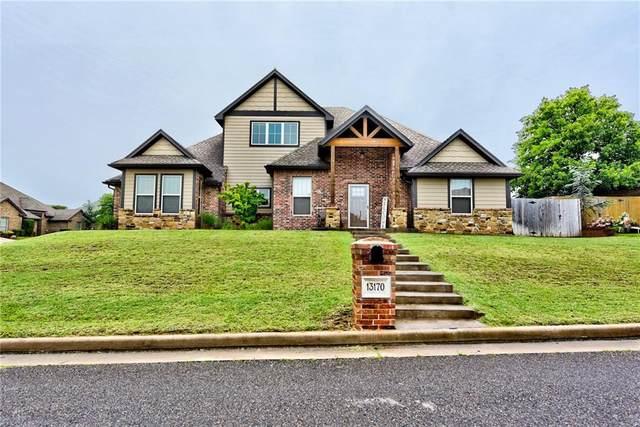 13170 Red Oak Drive, Choctaw, OK 73020 (MLS #911534) :: Homestead & Co