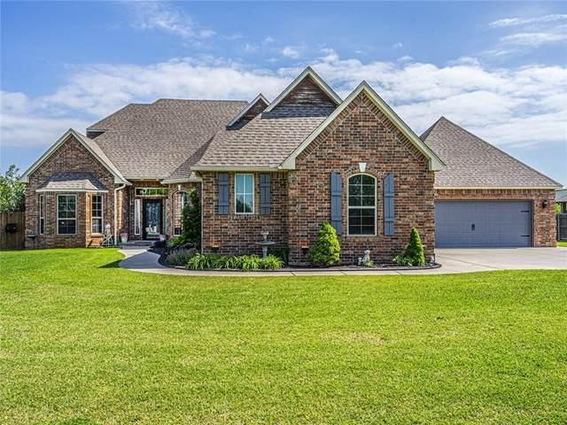 4602 N Shoreside Drive, Tuttle, OK 73089 (MLS #911558) :: Keri Gray Homes