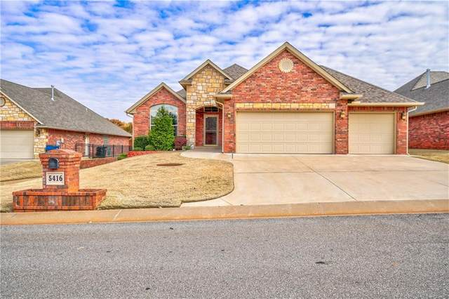 5416 Table Rock Drive, Edmond, OK 73025 (MLS #911721) :: Erhardt Group at Keller Williams Mulinix OKC