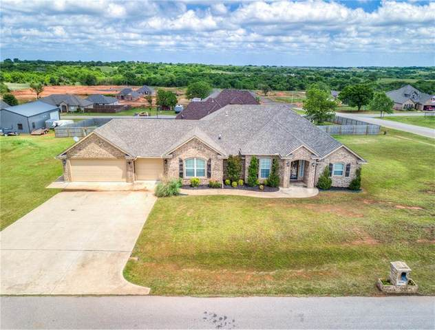 3696 Merlin Court, Newcastle, OK 73065 (MLS #911798) :: Erhardt Group at Keller Williams Mulinix OKC