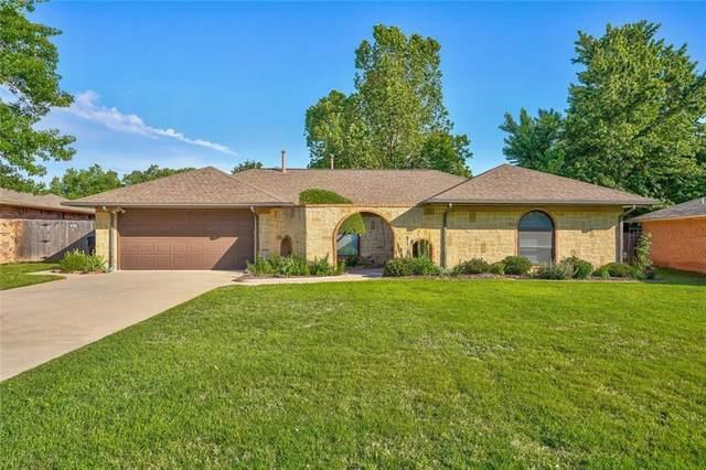 7621 Lippert Lane, Oklahoma City, OK 73162 (MLS #912088) :: Homestead & Co