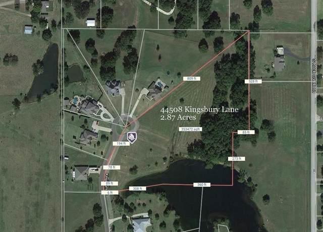 44508 Kingsbury Lane, Shawnee, OK 74801 (MLS #912119) :: Erhardt Group at Keller Williams Mulinix OKC