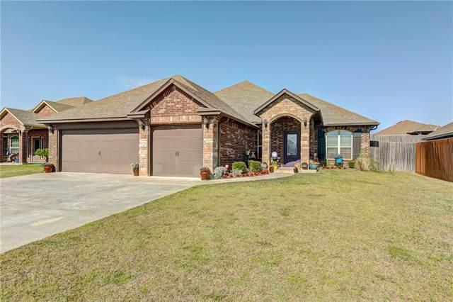 2117 Mill Creek Way, Choctaw, OK 73020 (MLS #912214) :: Homestead & Co