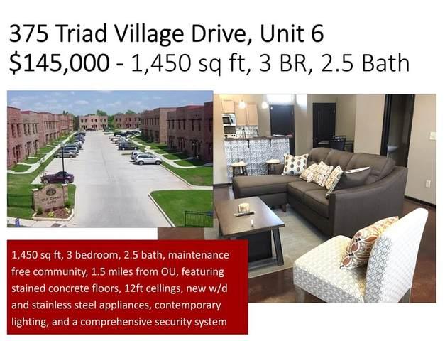375 Triad Village Drive #6, Norman, OK 73071 (MLS #912239) :: Homestead & Co