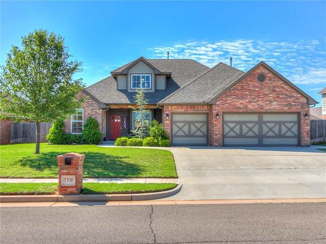1508 NW 176th Street, Edmond, OK 73012 (MLS #912310) :: Homestead & Co