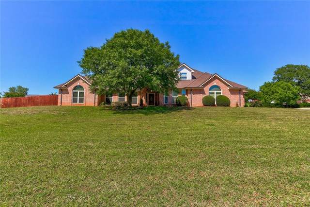 3351 Greystone Drive, Blanchard, OK 73010 (MLS #912442) :: Erhardt Group at Keller Williams Mulinix OKC