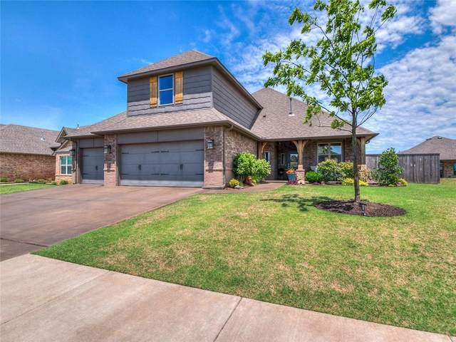 7117 NW 156th Street, Edmond, OK 73013 (MLS #912564) :: Homestead & Co