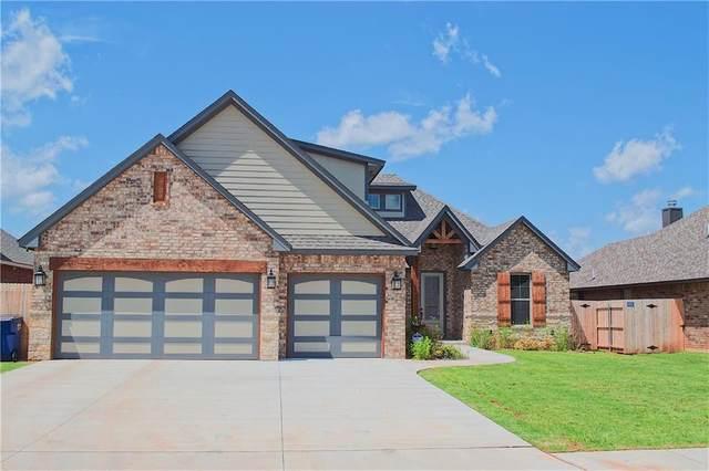 1723 W Zachary Way, Mustang, OK 73064 (MLS #912762) :: Homestead & Co