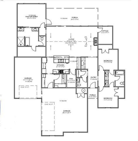 11525 NW 107th Street, Yukon, OK 73099 (MLS #912771) :: Homestead & Co