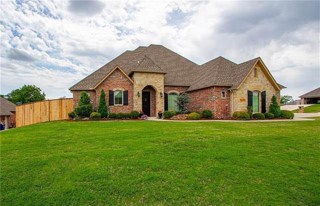 1230 Oak Tree Drive, Purcell, OK 73080 (MLS #913019) :: Erhardt Group at Keller Williams Mulinix OKC