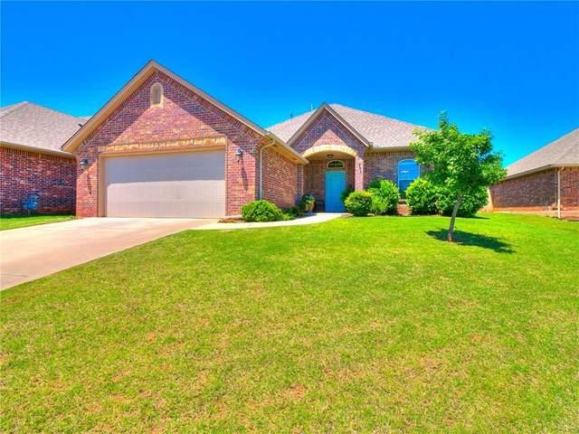 1825 Shady Lane, Edmond, OK 73003 (MLS #913028) :: Keri Gray Homes