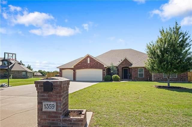 1359 Vista Circle, Edmond, OK 73025 (MLS #913078) :: Keri Gray Homes