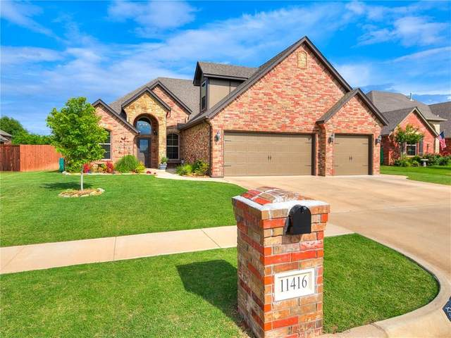 11416 Fairways Avenue, Yukon, OK 73099 (MLS #913080) :: Homestead & Co