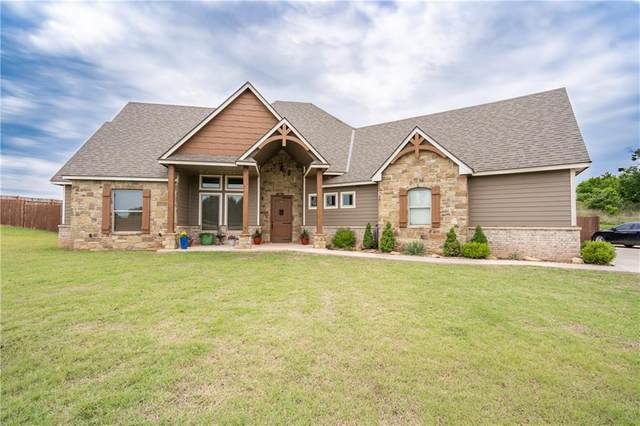 3817 N Rockwell Avenue, Blanchard, OK 73010 (MLS #913088) :: Erhardt Group at Keller Williams Mulinix OKC