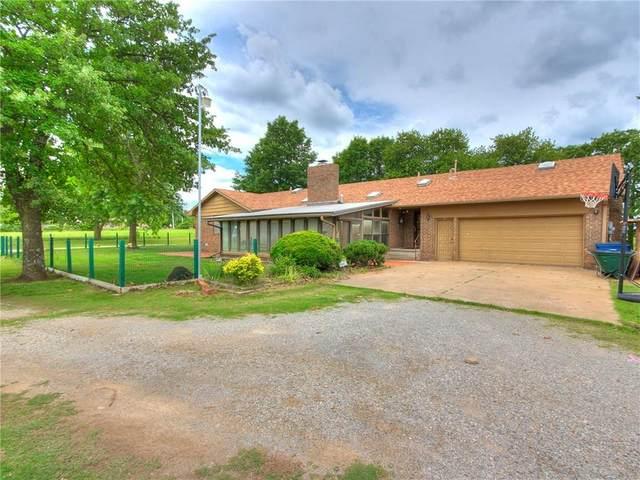 1880 N Dobbs Road, Harrah, OK 73045 (MLS #913136) :: Homestead & Co