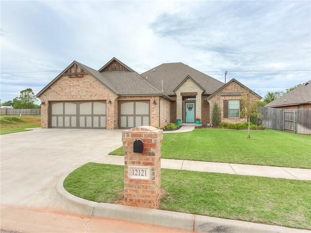 12121 SW 45th Terrace, Mustang, OK 73064 (MLS #913148) :: Homestead & Co