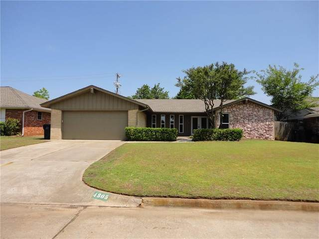 4805 Eastman Drive, Oklahoma City, OK 73122 (MLS #913247) :: Homestead & Co