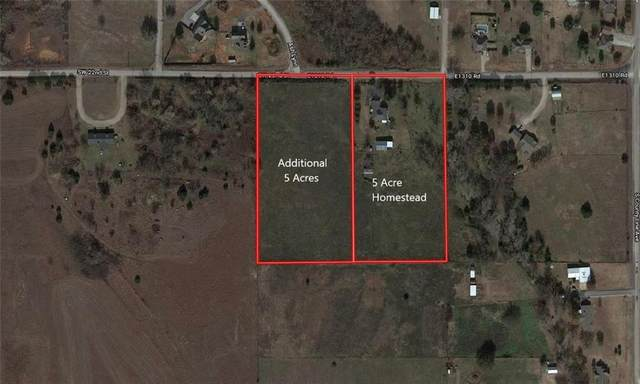 Tract A - County Road 1310, Blanchard, OK 73010 (MLS #913425) :: Homestead & Co