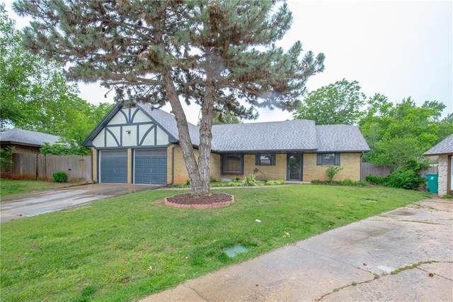 6712 NW Lyrewood Circle, Oklahoma City, OK 73132 (MLS #913432) :: Homestead & Co