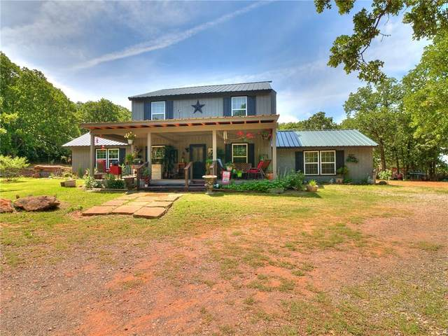 331737 E Parkwood Drive, Wellston, OK 74881 (MLS #913981) :: Homestead & Co