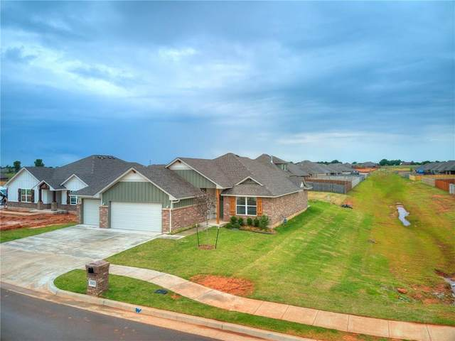 3313 Brookstone Pass Drive, Yukon, OK 73099 (MLS #914077) :: Homestead & Co