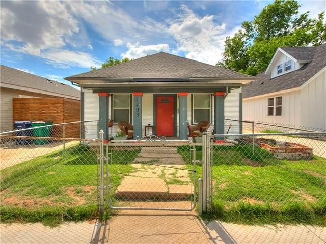 1403 N Blackwelder Avenue, Oklahoma City, OK 73106 (MLS #914180) :: Homestead & Co