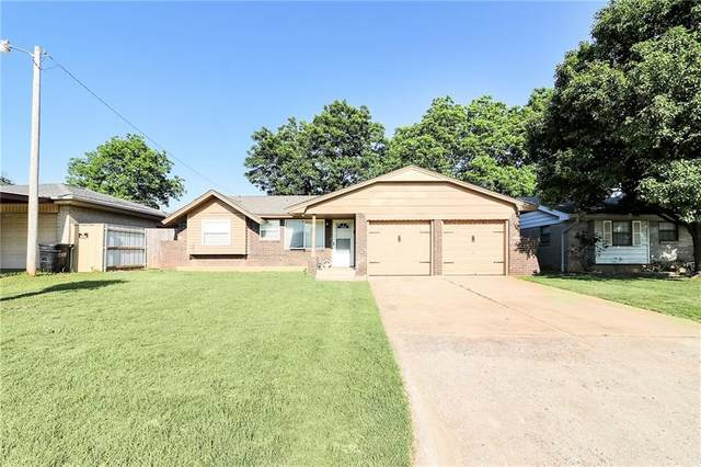 625 Baer Drive, Moore, OK 73160 (MLS #914198) :: Your H.O.M.E. Team