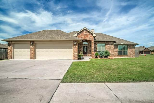 3013 Brookstone Lakes Drive, Yukon, OK 73099 (MLS #914234) :: Homestead & Co