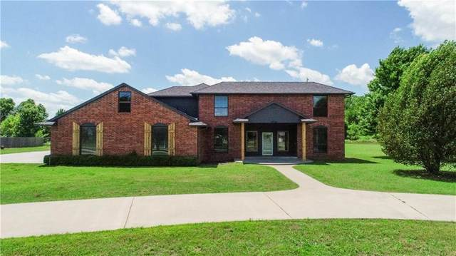 3900 Pleasant Valley Circle, Norman, OK 73072 (MLS #914294) :: Homestead & Co