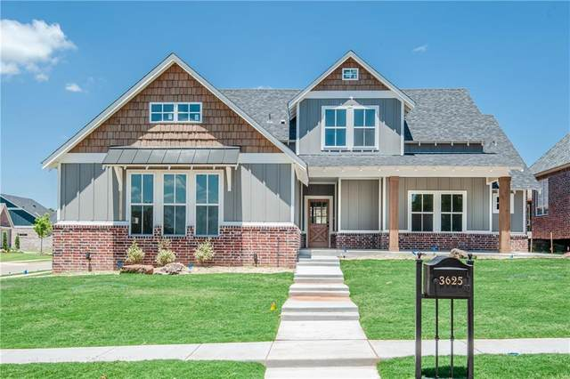 3625 Rodkey Mill Circle, Edmond, OK 73034 (MLS #914589) :: Homestead & Co