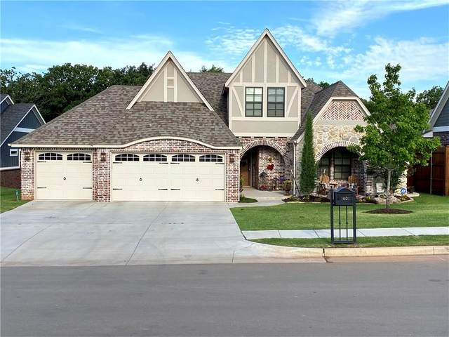 1601 Boathouse Road, Edmond, OK 73034 (MLS #914921) :: Homestead & Co