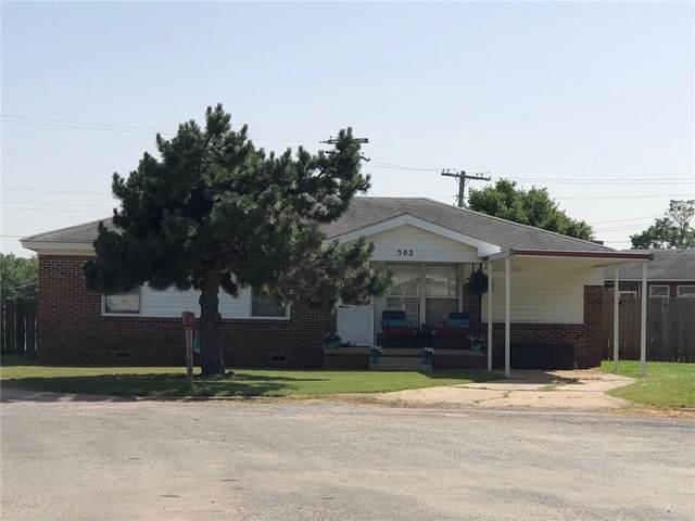 302 N Carey Street, Wynnewood, OK 73098 (MLS #915264) :: Homestead & Co