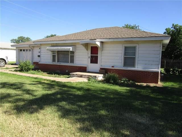 115 E Monroe Street, Mangum, OK 73554 (MLS #915347) :: Keri Gray Homes