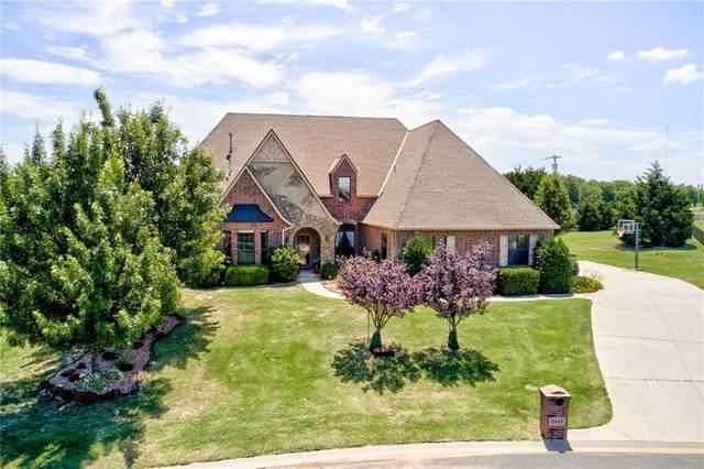 8444 Belcaro Bend, Edmond, OK 73034 (MLS #915375) :: Homestead & Co