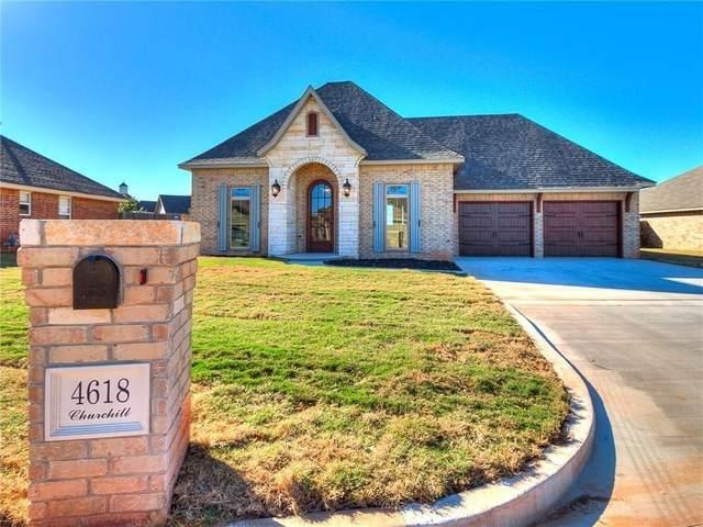 4618 Churchill, Shawnee, OK 74804 (MLS #915634) :: Keri Gray Homes