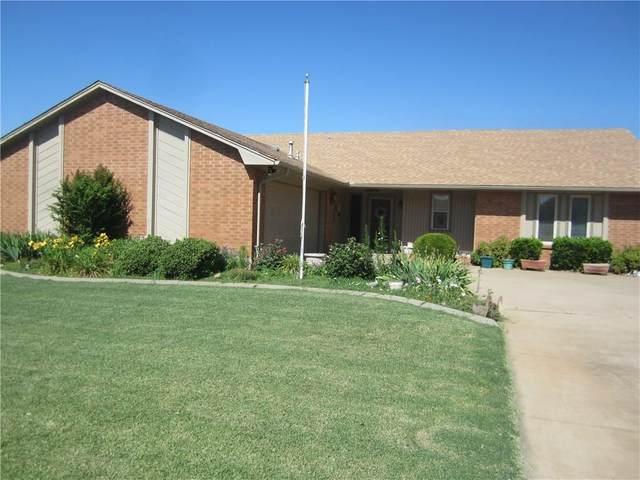 609 Camelot Court, Altus, OK 73521 (MLS #915823) :: Keri Gray Homes