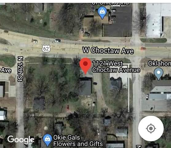 1121 W Choctaw Avenue, Chickasha, OK 73018 (MLS #915934) :: Homestead & Co