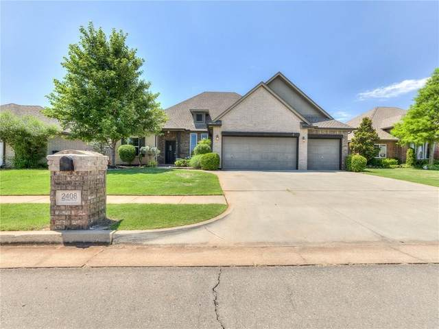2408 NW 174th Street, Edmond, OK 73012 (MLS #916047) :: Erhardt Group at Keller Williams Mulinix OKC