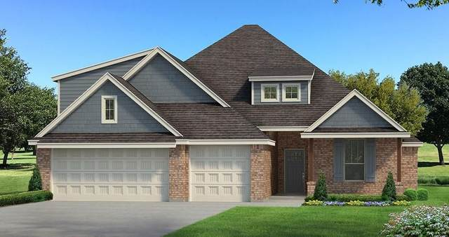 4209 Clevenger Drive, Edmond, OK 73012 (MLS #916223) :: Homestead & Co