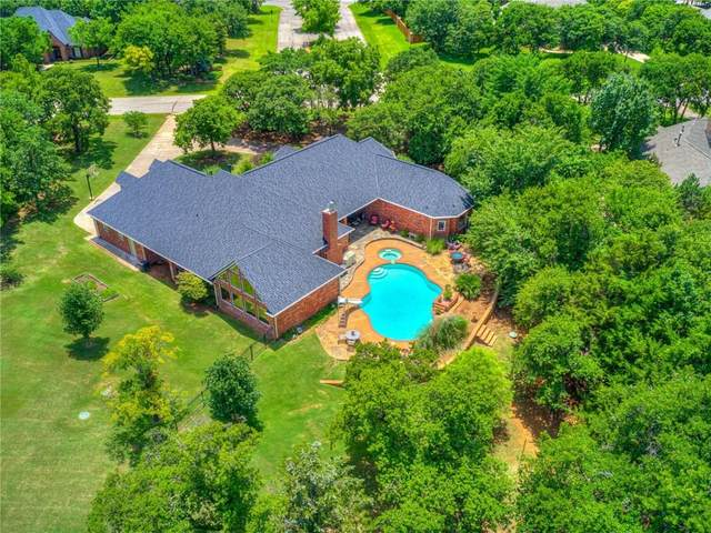 2601 Lillehammer Drive, Edmond, OK 73034 (MLS #916590) :: The UB Home Team at Whittington Realty