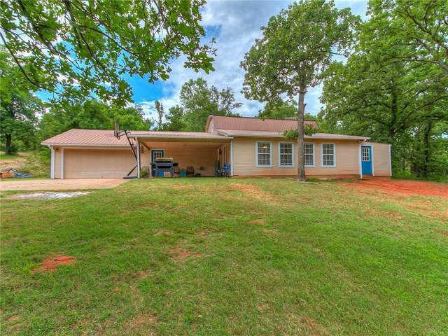 21303 Trailridge, Tecumseh, OK 74873 (MLS #916604) :: Homestead & Co
