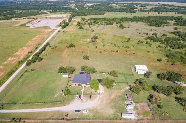 11285 E County Road 1570 Road, Lindsay, OK 73052 (MLS #916860) :: Erhardt Group at Keller Williams Mulinix OKC