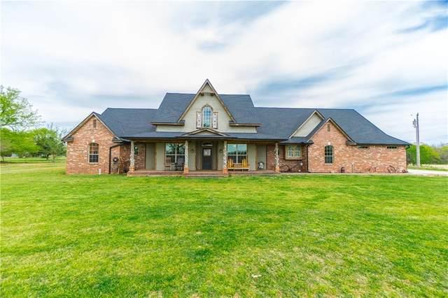 9325 Cemetery Road, Noble, OK 73068 (MLS #917497) :: Homestead & Co