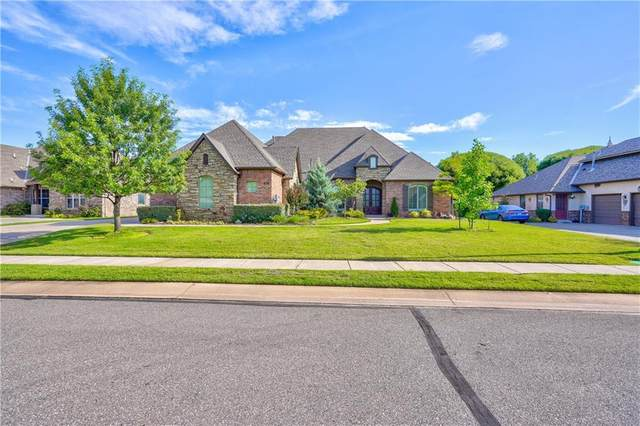 145 Ledgemont Drive, Edmond, OK 73013 (MLS #917682) :: Homestead & Co