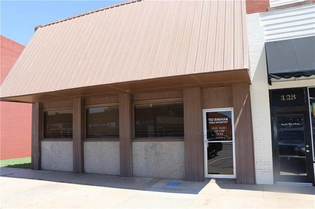 123 E Broadway, Anadarko, OK 73005 (MLS #917761) :: Homestead & Co