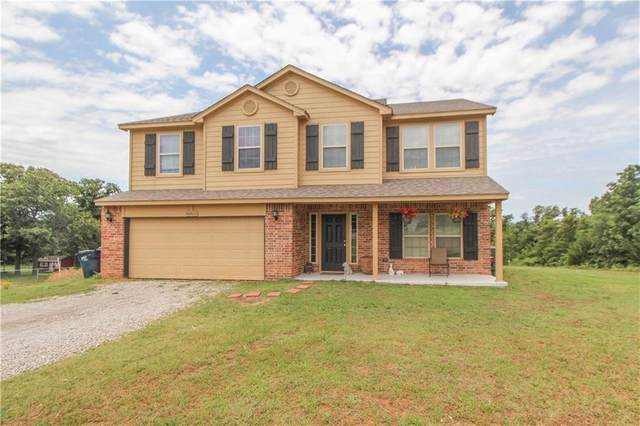16853 Acorn Lane, Newalla, OK 74857 (MLS #917792) :: Homestead & Co