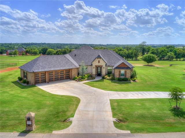2535 Four Lake Drive, Blanchard, OK 73010 (MLS #917823) :: Homestead & Co