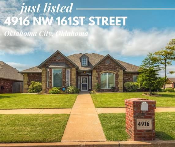 4916 NW 161st Street, Edmond, OK 73013 (MLS #918124) :: Homestead & Co